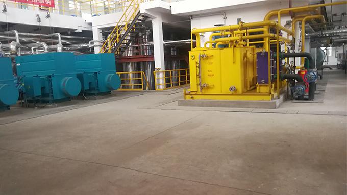 某集团电厂设备基础抬升加固工程