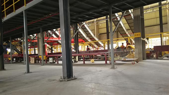 天津某快递公司厂房室内地坪及钢平台柱地基加固工程