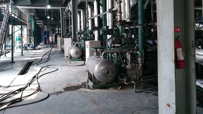 浙江台州某公司生产车间设备基础沉降加固工程