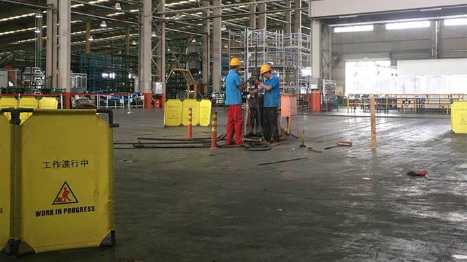 福建某品牌汽车车身外覆盖件生厂车间地基沉降处治工程