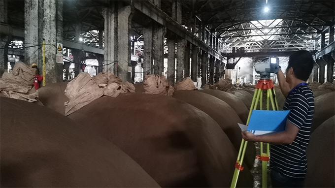 宜宾国际知名白酒集团|车间独立桩基础沉降加固工程